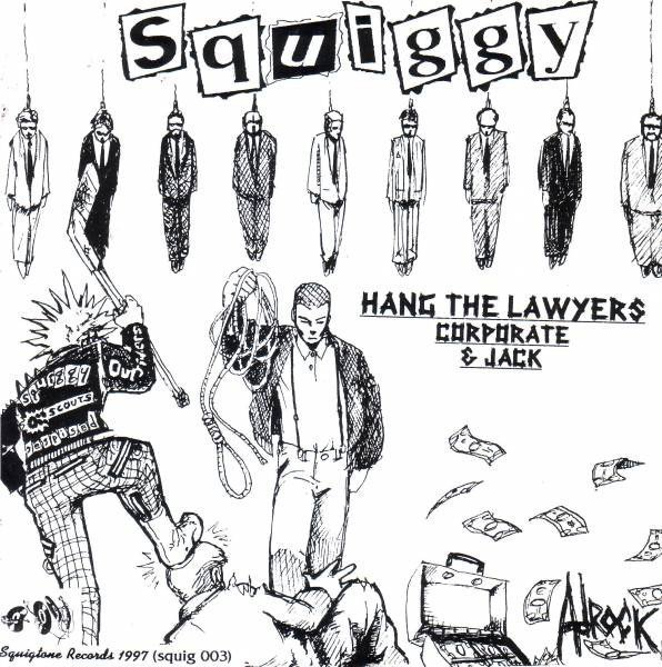 The Oi Scouts - Squiggy / The Oi! Scouts