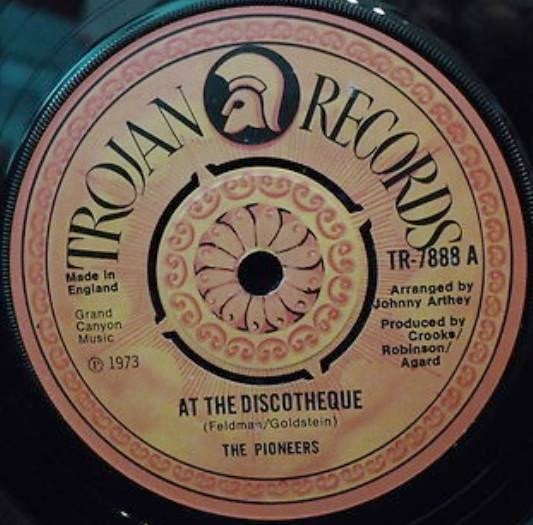 The Pioneers - At The Discotheque / Step By Step