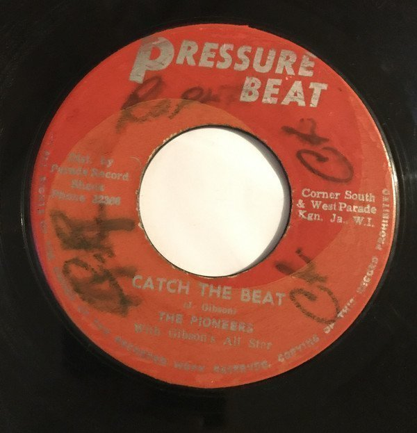 The Pioneers - Catch The Beat / Janan
