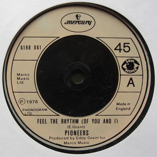 The Pioneers - Feel The Rhythm (Of You And I)