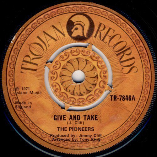The Pioneers - Give And Take