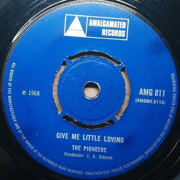 The Pioneers - Give Me Little Loving / This Is Soul