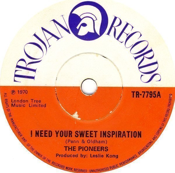 The Pioneers - I Need Your Sweet Inspiration