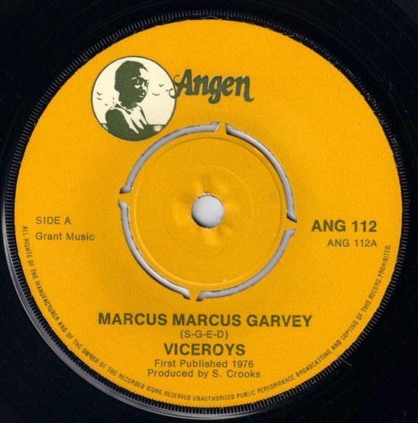 The Pioneers - Marcus Marcus Garvey / Change Your Style