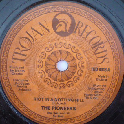 The Pioneers - Riot In A Notting Hill