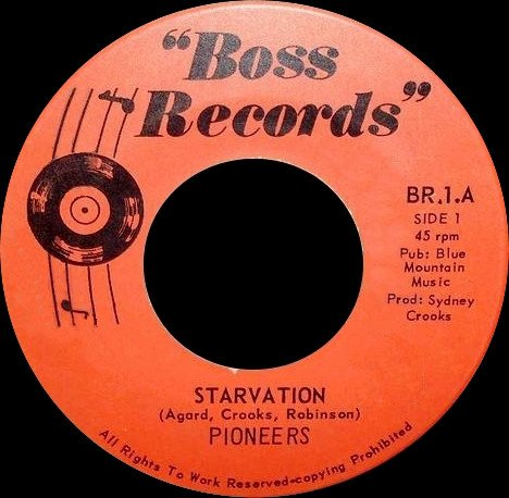 The Pioneers - Starvation / Rock It