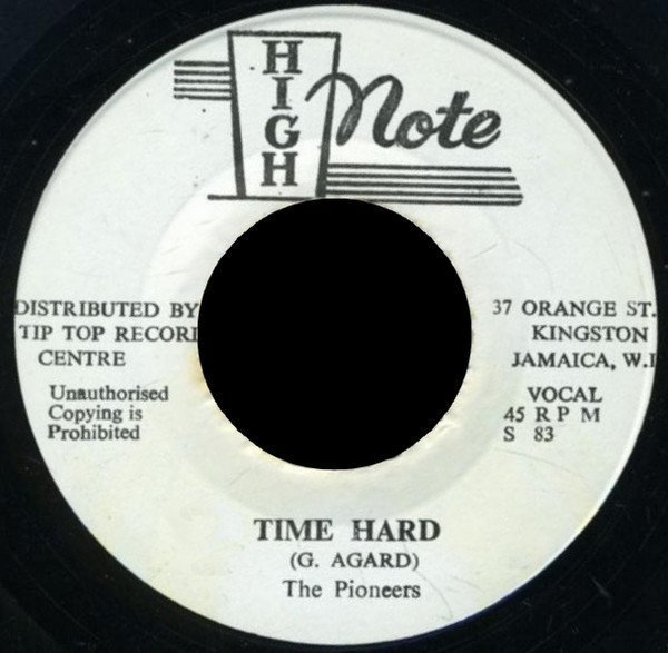 The Pioneers - Time Hard