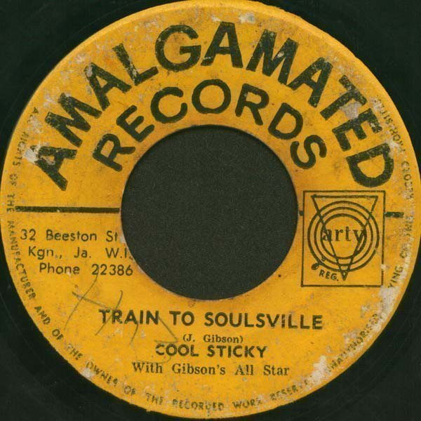 The Pioneers - Train To Soulsville / Tickle Me