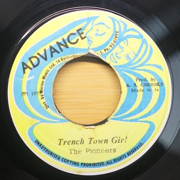 The Pioneers - Trench Town Girl