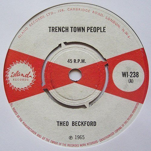 The Pioneers - Trench Town People / Sometime