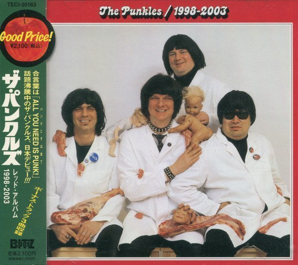 The Punkles - レッド・アルバム 1998 - 2003