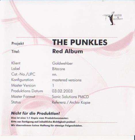 The Punkles - Red Album