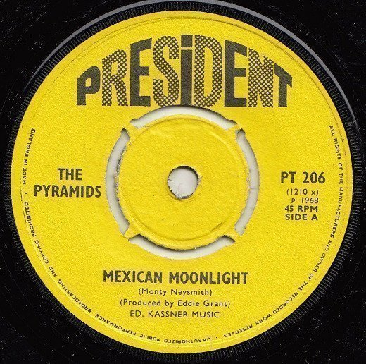 The Pyramids - Mexican Moonlight