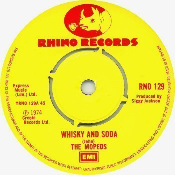 The Pyramids - Whiskey And Soda / Jesse James Rides Again