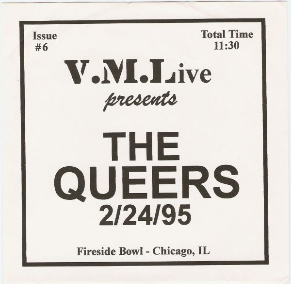 The Queers - 2/24/95 (Fireside Bowl - Chicago, IL)
