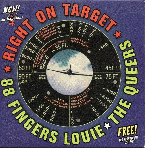 The Queers - Right On Target