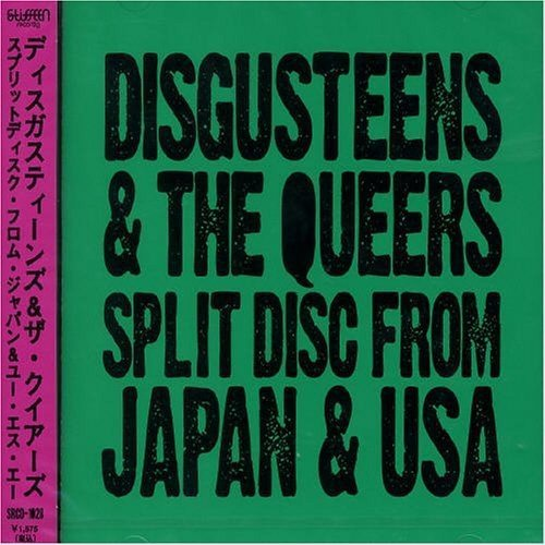 The Queers - Split Disc From Japan And USA