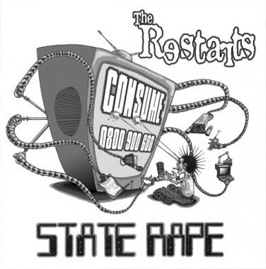 The Restarts - Time To Move On / State Rape
