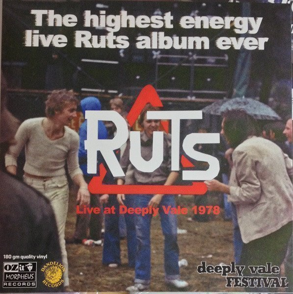 The Ruts - Live At Deeply Vale 1978