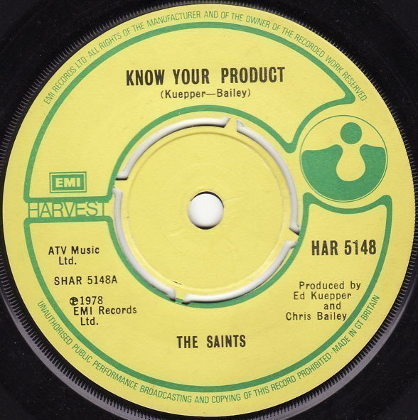 The Saints - Know Your Product