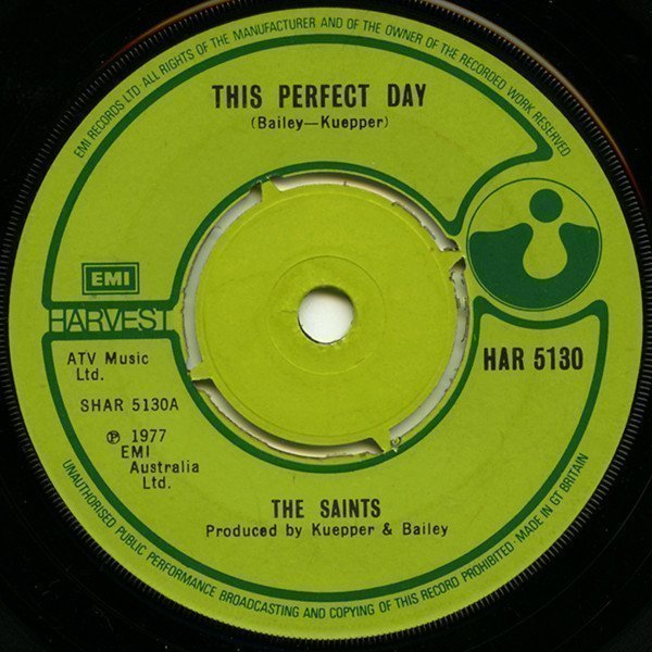 The Saints - This Perfect Day