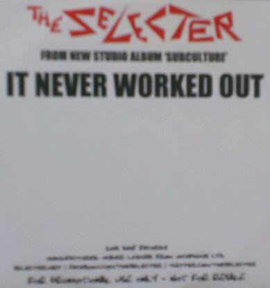 The Selecter - It Never Worked Out