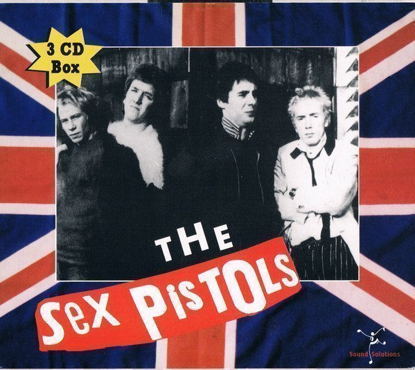 The Sex Pistols - 3 CD Box