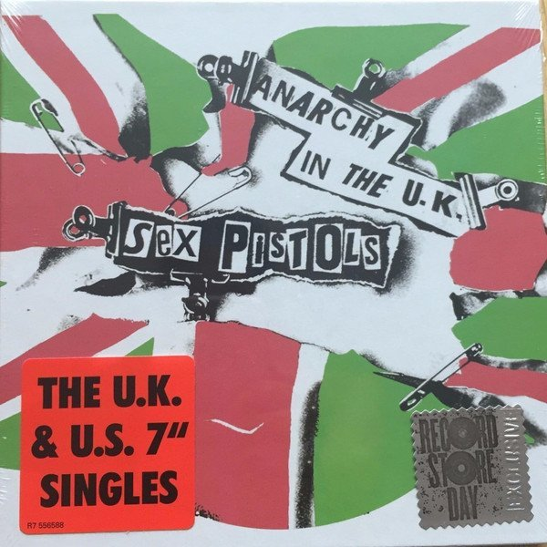 "The Sex Pistols - Anarchy In The U.K. - The U.K. & U.S. 7"" Singles"