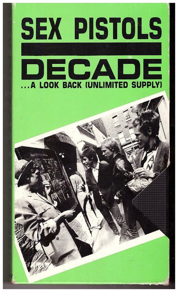 The Sex Pistols - Decade...A Look Back (Unlimited Supply)