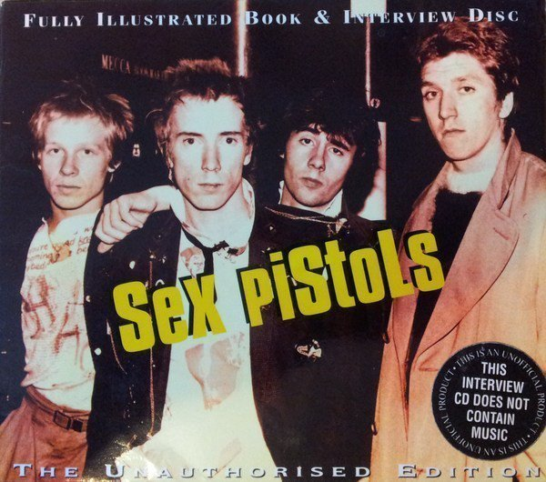 The Sex Pistols - Fully Illustrated Book & Interview Disc