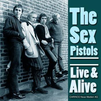 The Sex Pistols - Live & Alive