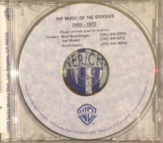 The Stooges - The Music Of The Stooges 1969-1970
