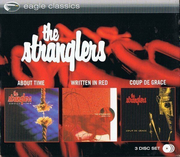 The Stranglers - About Time - Written In Red - Coup De Grace