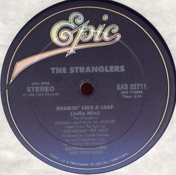 The Stranglers - Dreamtime / Shakin