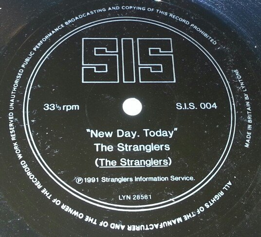 The Stranglers - New Day. Today