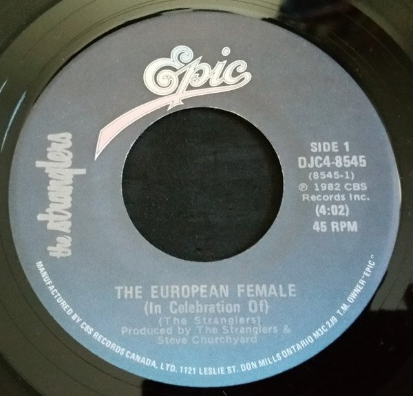 The Stranglers - The European Female (In Celebration Of) / Golden Brown