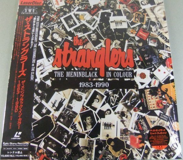 The Stranglers - The Meninblack In Colour 1983 - 1990