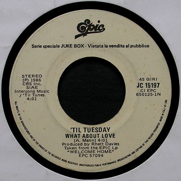 The Stranglers - What About Love / Always The Sun