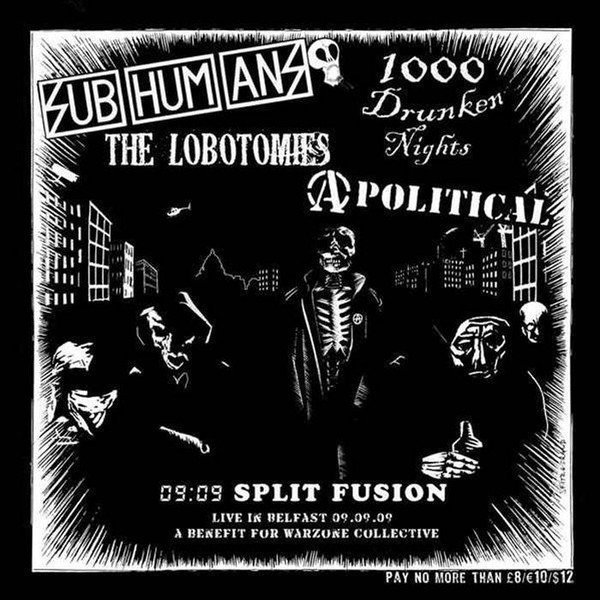 The Subhumans - 09:09 Split Fusion