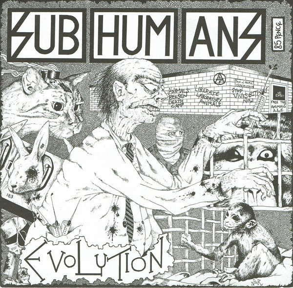 The Subhumans - Evolution