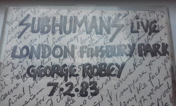 The Subhumans - Live London Finsbury Park George Robey 7-2-83