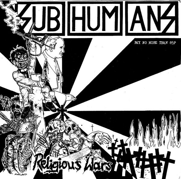 The Subhumans - Religious Wars