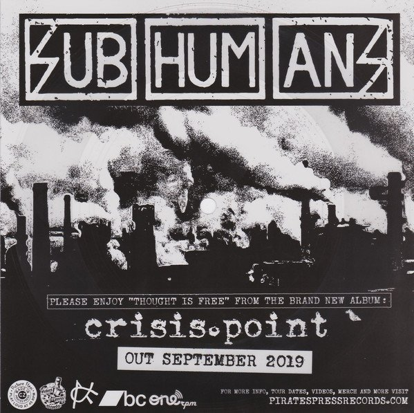 The Subhumans - Thought Is Free