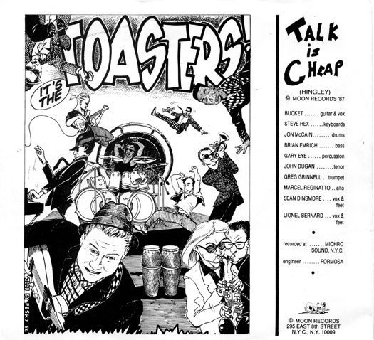 The Toasters - Talk Is Cheap / Try And Try Again