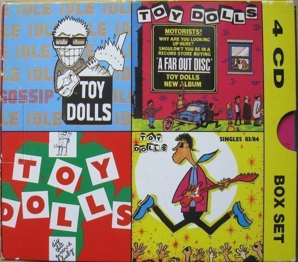 The Toy Dolls - The Volume Years