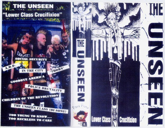 The Unseen - Lower Class Crucifixion