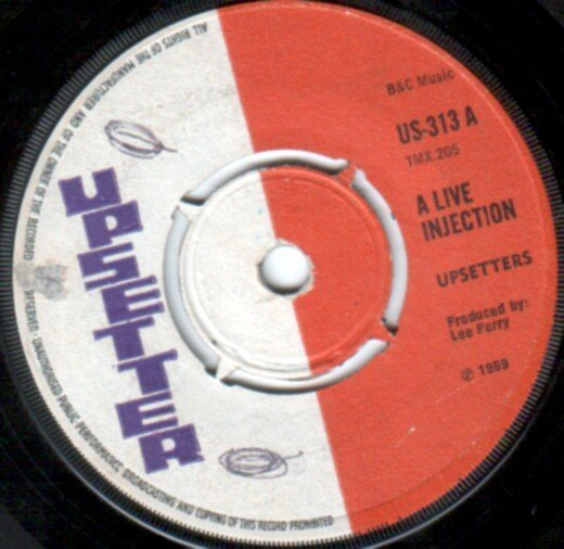 The Upsetters - A Live Injection / Everything For Fun