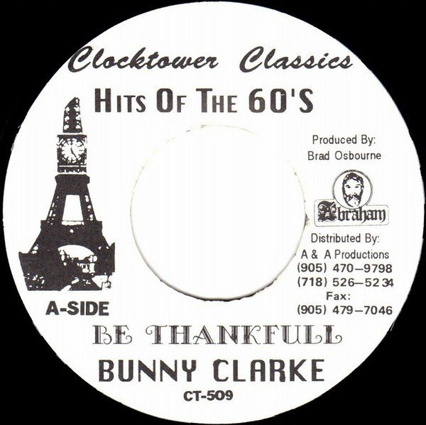 The Upsetters - Be Thankfull / Dub In The Backseat