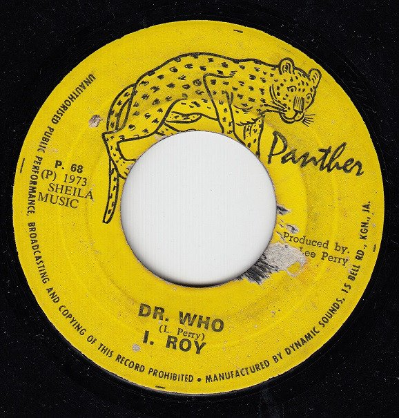 The Upsetters - Dr. Who / Version
