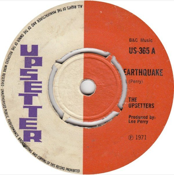 The Upsetters - Earthquake / Place Called Africa